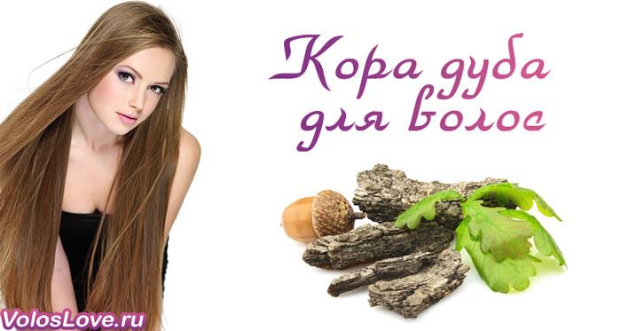 Кора дуба для волос применение отзывы