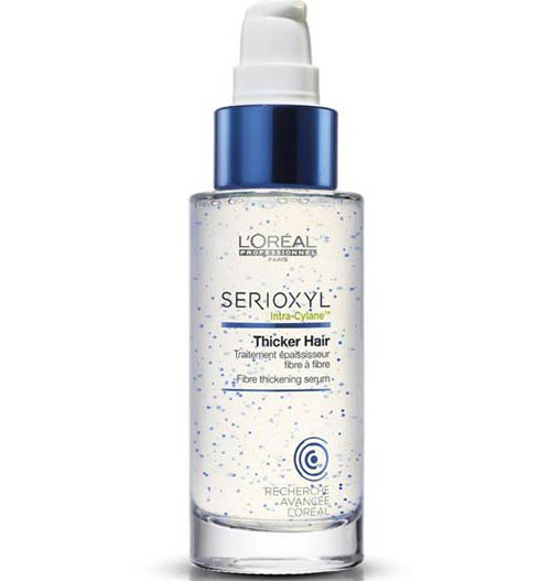 Loreal professionnel serioxyl thicker hair serum полезные свойства