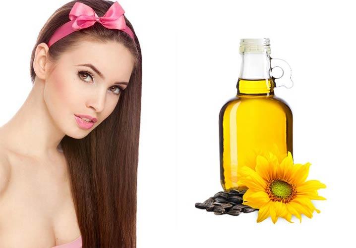 Что если волосы намазать подсолнечным маслом