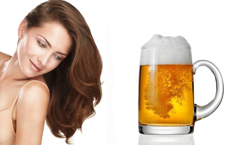 Маска для волос из яиц и пива
