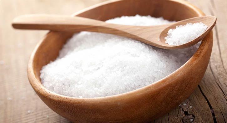 Маска для волос с солью и маслом укрепления