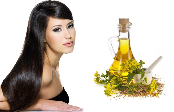 Рапсовое масло для волос