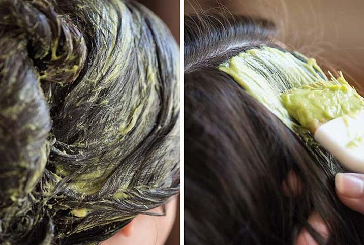 маска для волос с серой