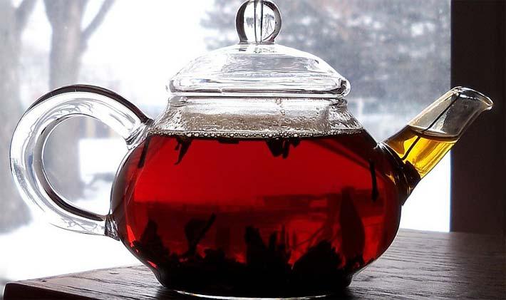 витаминно-травяной чем полезен черный листовой чай погоды