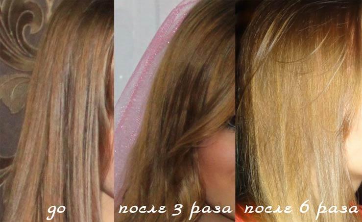 Осветлить волосы корицей рецепт