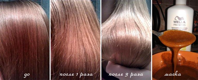 корица для волос отзывы фото до и после