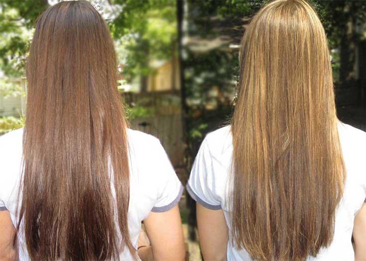 пиво для светлых волос осветление