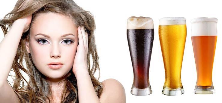 Как мыть волосы пивом