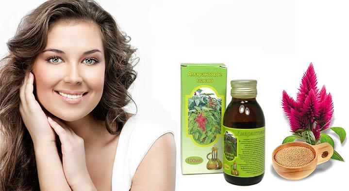 Амарантовое масло для волос