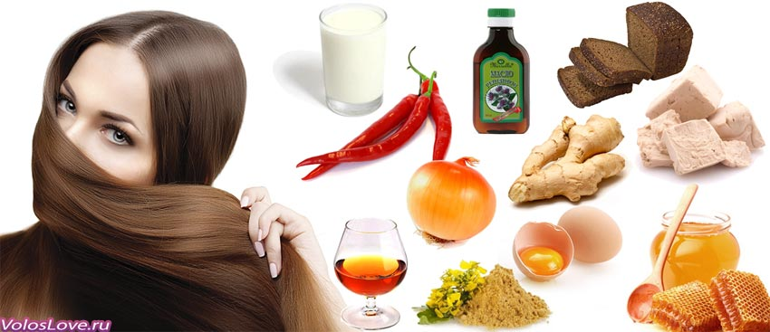 Маски для волос в домашних условиях для роста и объема
