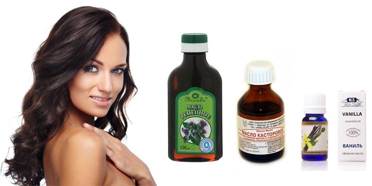 Репейного масла против выпадения волос