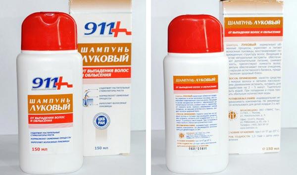 Шампунь 911 репейный от выпадения волос отзывы
