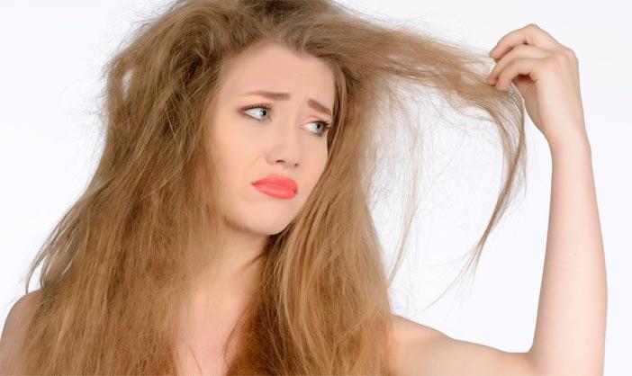 Чем лечить испорченные краской волосы