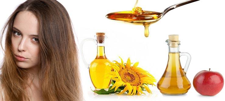 увлажняющая маска для сухих волос с медом маслом