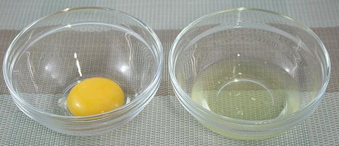 Маска из яичного белка для волос