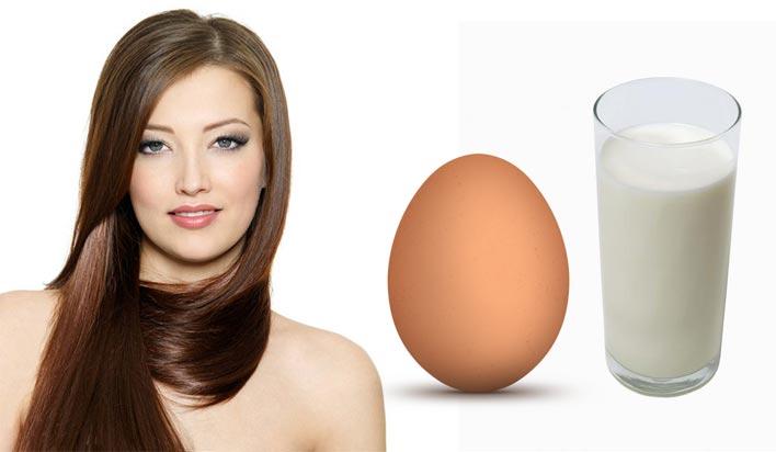 Маска с яйцом и водкой для волос