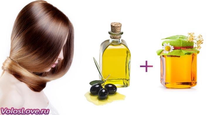Маска с оливковым маслом и мёдом рецепты польза
