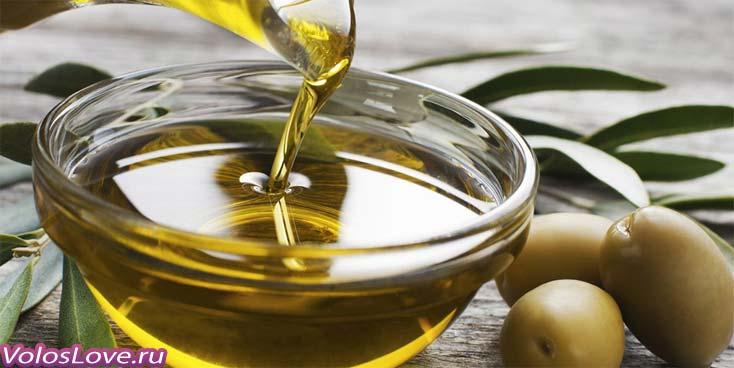 Маска для волос с оливковым маслом для роста сухих