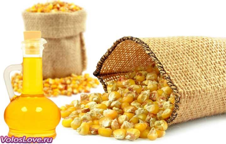 Маски с кукурузным маслом для волос рецепты