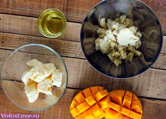 Применение масло манго для волос маски отзывы