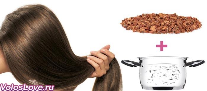 Отвар коры дуба для волос рецепт польза