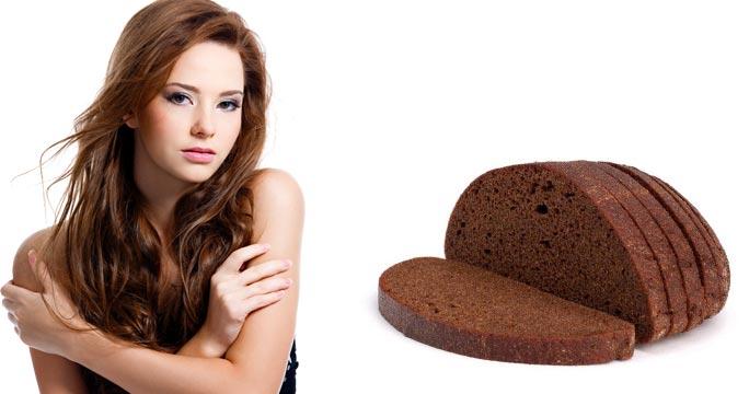 Маска из чёрного хлеба для волос рецепт на ночь отзывы