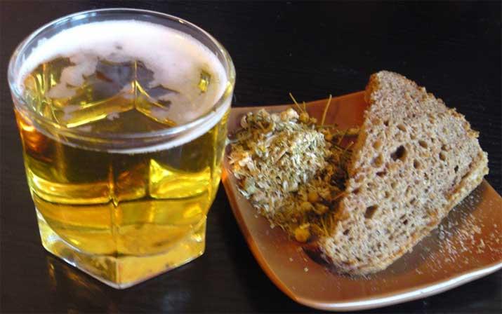 маска с хлебом и пивом для роста волос