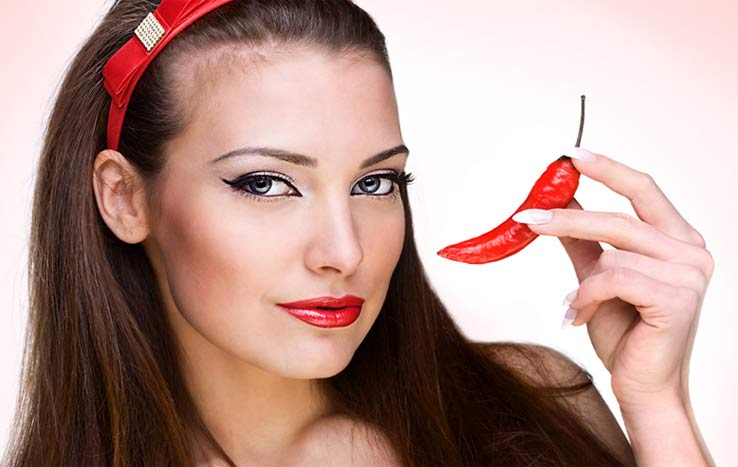 Красный перец для роста волос