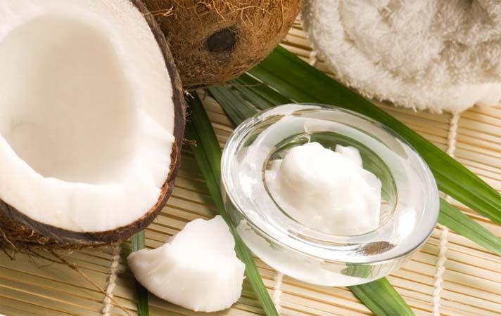 Маска с маслом кокоса для роста от выпадения волос
