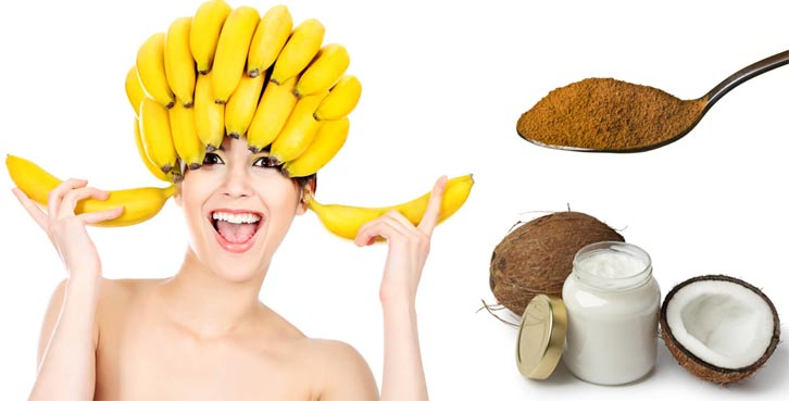 маска из банана для волос рецепты
