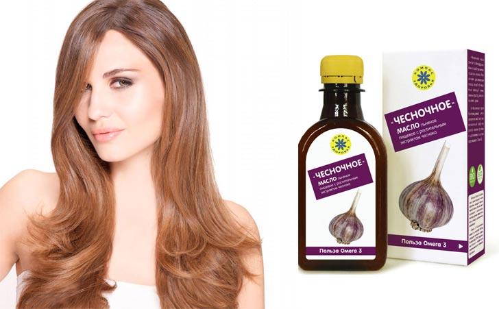 Масло чеснока для волос применение рецепт