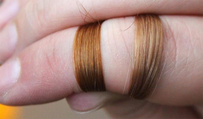 осветление волос лимоном фото до и после