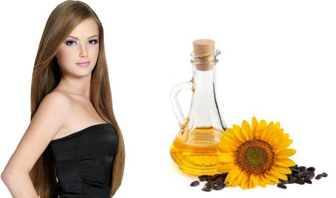 подсолнечное масло для кончиков волос маска