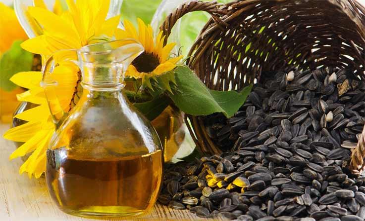 подсолнечное масло для волос применение
