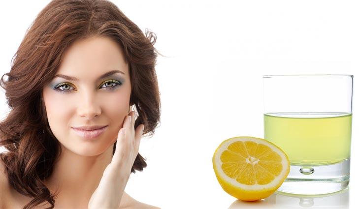 Сок лимона для волос маска осветление
