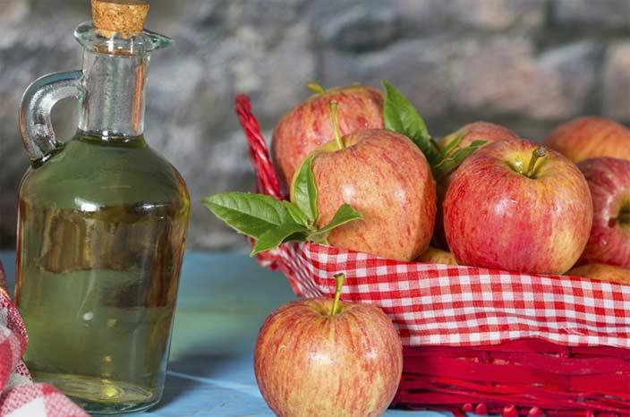 применение яблочного уксуса для волос полоскание