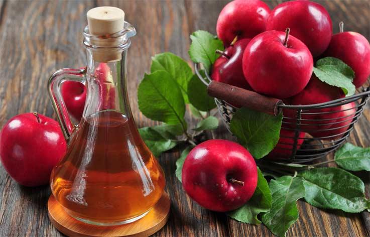 рецепты для роста волос с яблочным уксусом