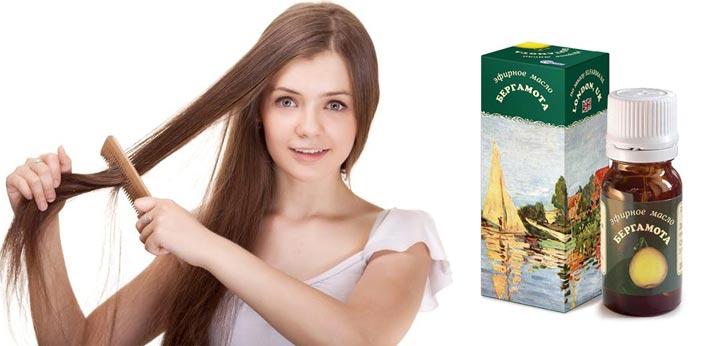 Эфирное масло бергамота для волос массаж расчесывание