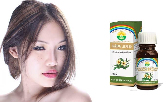 эфирное масло чайного дерева для волос маска от перхоти