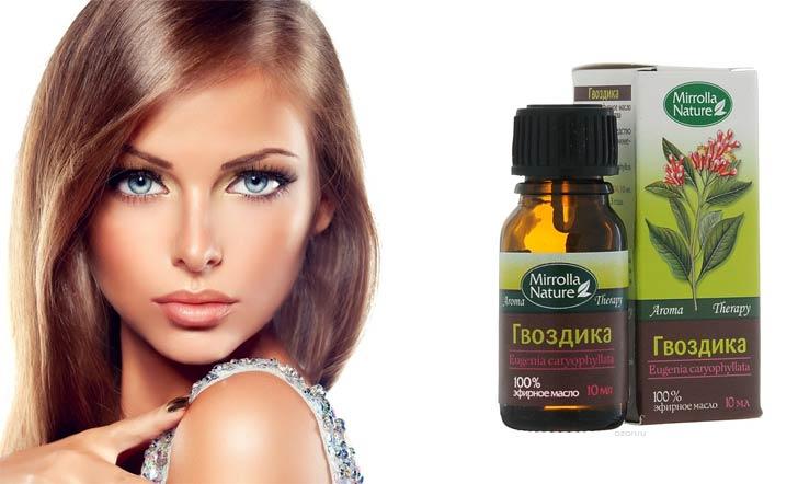 эфирное масло гвоздики для волос свойства и применение рецепты