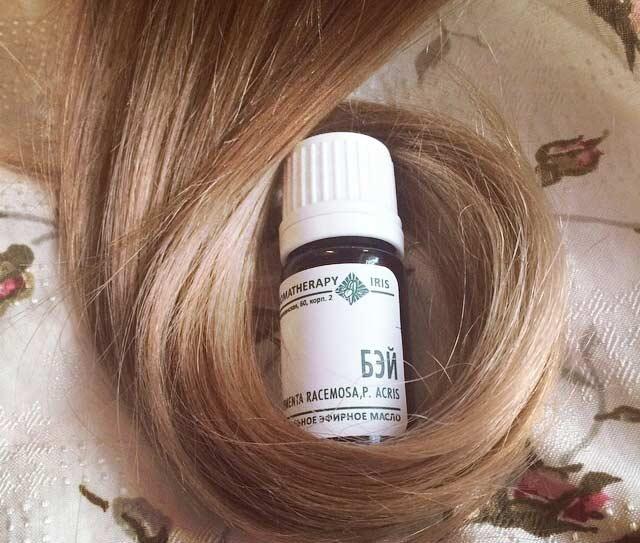 Масло бей для роста волос против выпадения маска