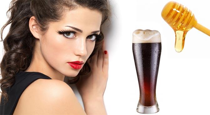 Медовая маска для роста волос рецепт с пивом