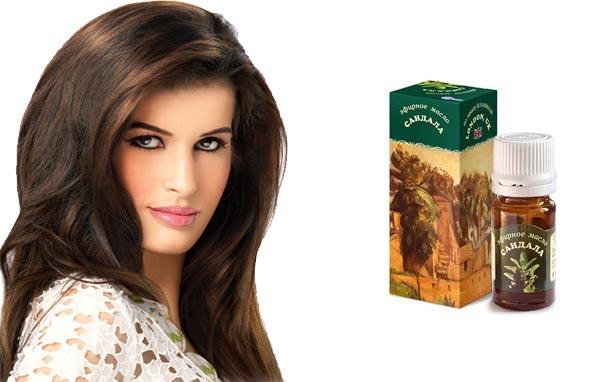 Сандаловое масло для волос применение маски