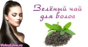 Маски с зелёным чаем для роста и от выпадения волос — рецепты