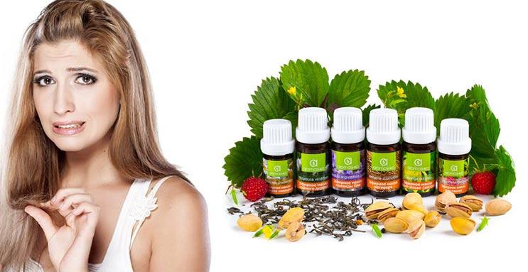 эфирные масла от выпадения волос у женщин список