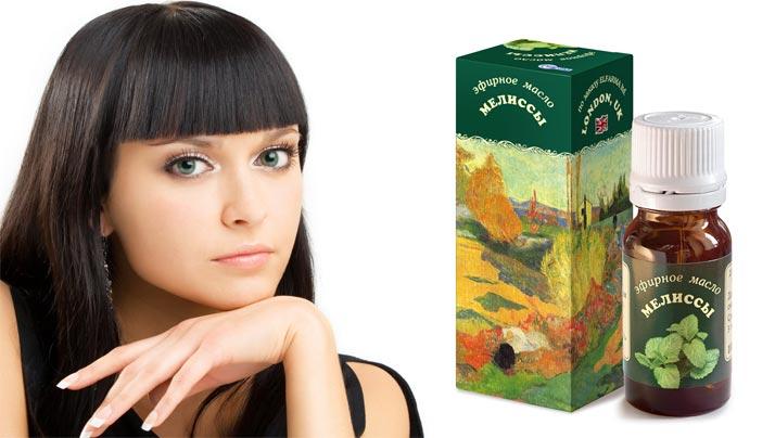 масло мелиссы свойства для волос ополаскивание
