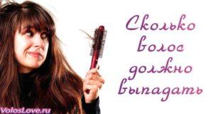 Сколько в норме должно выпадать волос — причины и советы
