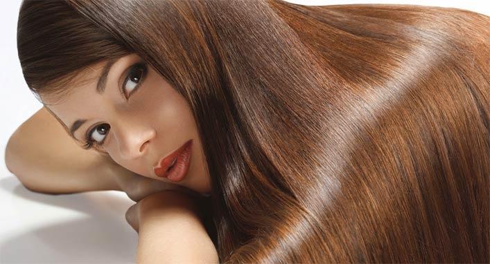 домашняя маска для блеска гладкости волос
