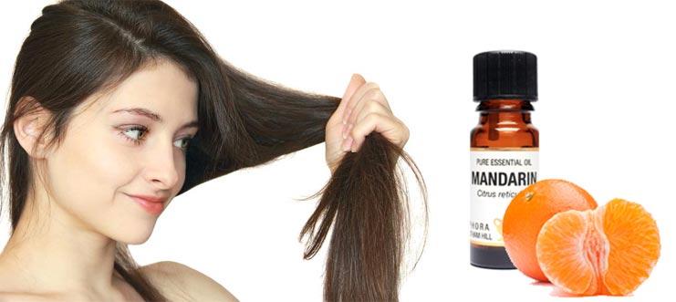 эфирное масло мандарина для волос ополаскивание