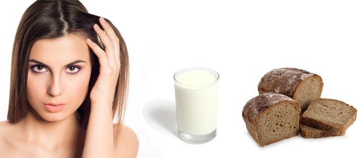 Маска для густоты с кефиром и хлебом рецепты